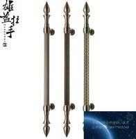 European craft doors Handle / doors glass door luxury handle / handle modern Chinese antique bronze