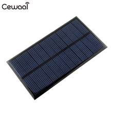 Cewaal Solar Panel 6V 1W Portable Mini DIY Module Panel System For Battery Cell Phone Chargers Portable Solar Cell(China)