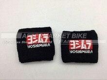 YOSHIMURA Logo Universal Motorcycle Brake Reservoir Sock Fluid Oil Cup Cover Sock Sleeve For Honda Yamaha Suzuki Kawasaki