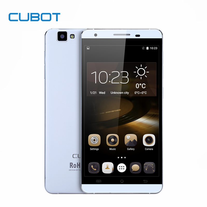 Galleria fotografica Cubot X15 Smartphone 5.5 FHD 1920*1080 2.5D JDI 16MP 2G RAM 16G ROM Caméra Android 5.1 4G LTE MTK6735A Quad Core Cell téléphone