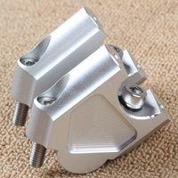 R1200GS LC Motorcycle Drag Handle Bar Clamps Handlebar Risers CNC Aluminum For BMW R1200 GS LC