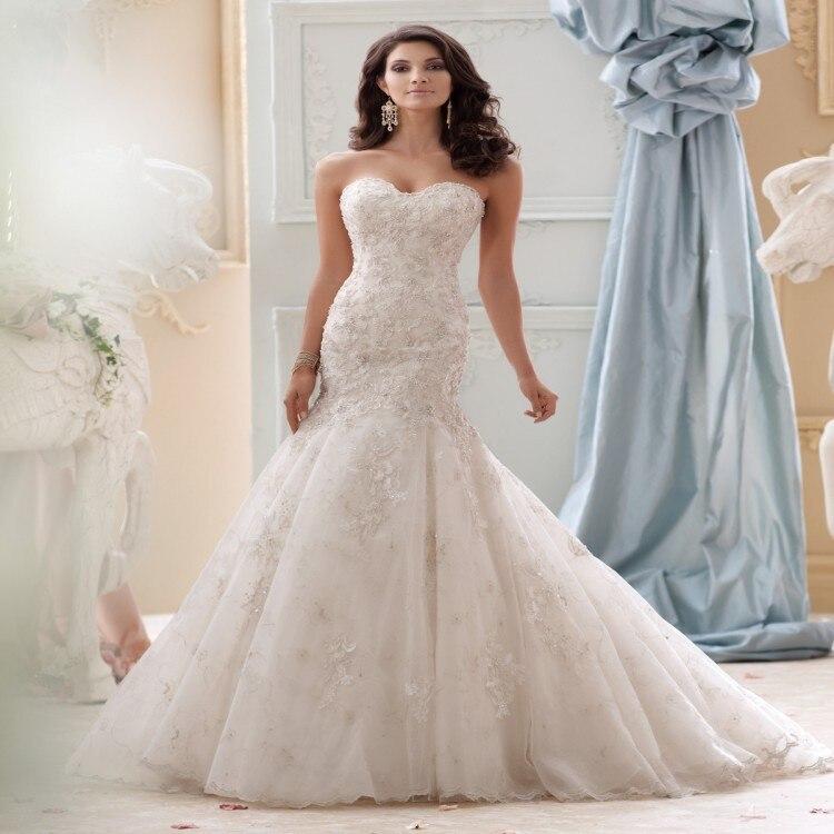 2018 Milla Nova New Designer Lace Mermaid Wedding Dresses
