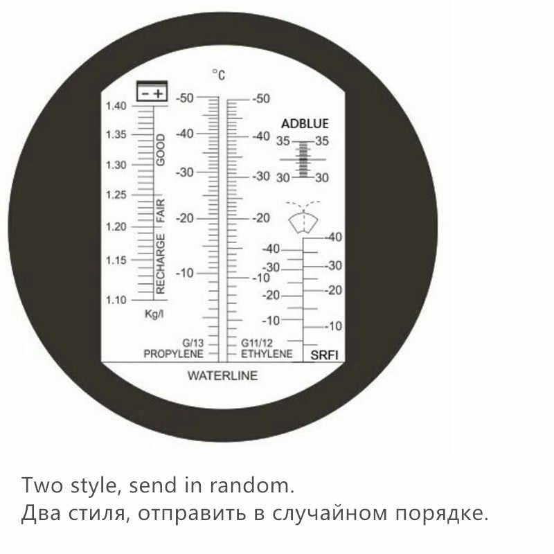 30-35% רכב אוריאה Tester אתילן גליקול נקודת קיפאון אנטיפריז רכב סוללה refractometer tester עם תיבה הקמעונאי 40% off
