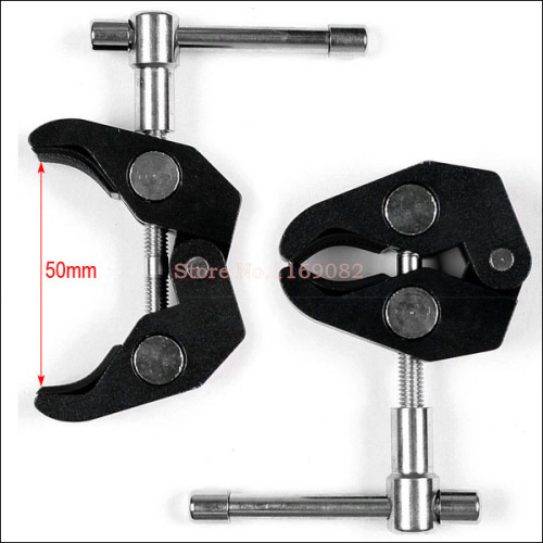 New Lager Articulating Super Clamp for 7 or 11 inch Magic Arm Camera Camcorder/LCD Monitor/LED Light/DSLR Rig Movie Kit