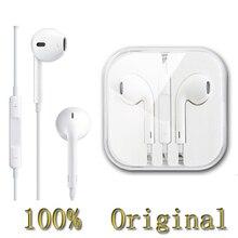 100{e3d350071c40193912450e1a13ff03f7642a6c64c69061e3737cf155110b056f} genuino Original auriculares fone de ouvido auriculares in-ear con micrófono barato de apple 5s 6 plus auriculares earpods para iphone 4s 5