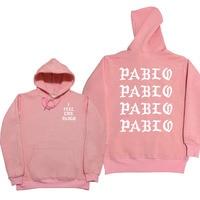 I Feel Like Paul Pablo Kanye West Sweat Homme Hoodies Men Sweatshirt Hoodies Hip Hop Streetwear