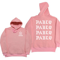 I Feel Like Paul Pablo Kanye West Sweat Homme Hoodies Men Sweatshirt Hoodies Hip Hop Streetwear