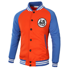 2018 New autumn and winter hot mens brand hoodie dragon ball casual jacket fashion hip-hop Mens pullover  4 Colors