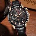 LIGE Лидирующий бренд, роскошные часы для мужчин, модные повседневные деловые мужские часы, военные спортивные водонепроницаемые кварцевые ч...