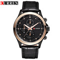 2016 New CURREN Top Brand Men Business Leather  Wristwatches Male Luxury  Sports Waterproof Watch relogio masculino 8138