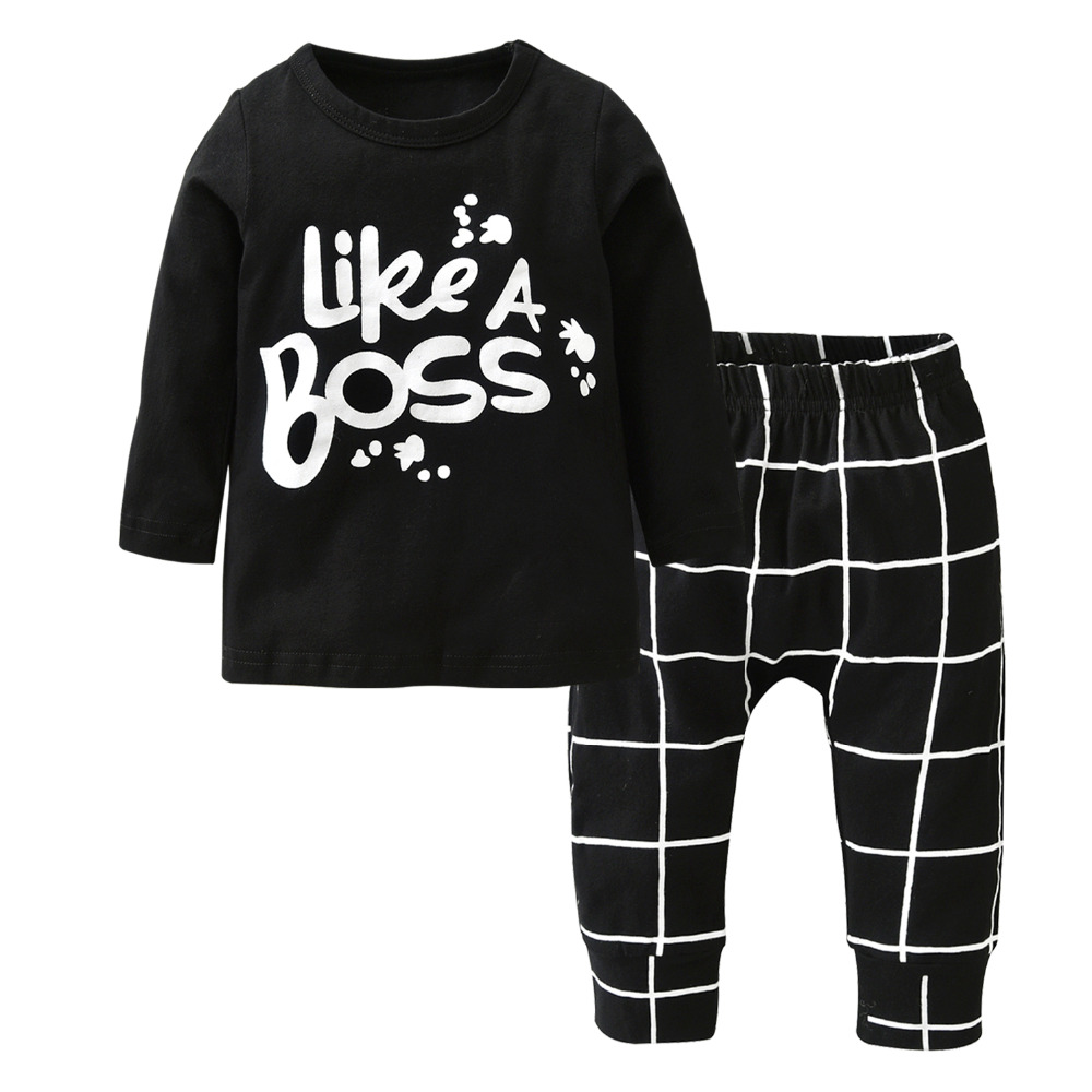 2017-Autumn-style-Baby-Boy-Girl-Clothes-Newborn-Long-sleeved-Letter-Like-A-Boss-T-shirtPants-2-PcsSuit-Infant-Clothing-Set-5