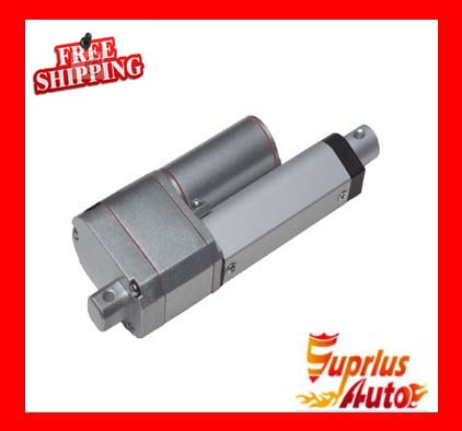 Free Shipping 9-Inch / 225mm Stroke 12v DC Actuator, Maximum Load 1000N/ 225LBS Position Feedback and Electric Linear Actuators free shipping 12 24v dc 9 225mm stroke electric linear actuator 1000n 225lbs maximum load linear actuator with mounting