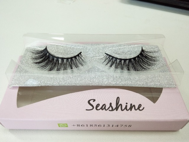 6cd92c4564e 10 pair 3d mink lashes wholesale 100% real mink fur Handmade crossing strip  lash free