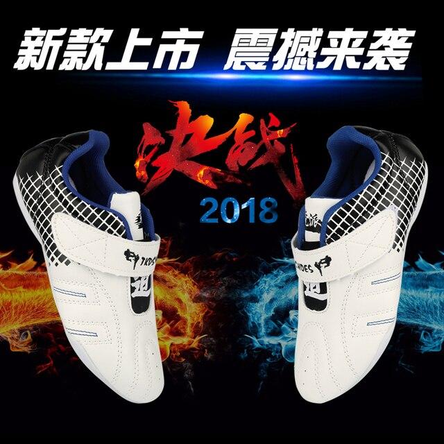 Sapatos Esporte Boxe Taekwondo Kung fu TaiChi sapatos para homens mulheres crianças para o tamanho Adulto 27-44 Sneaker Treinamento com um saco livre