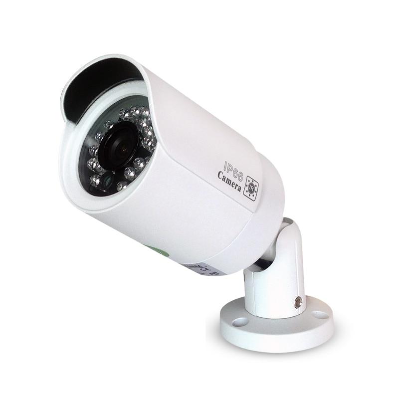 Kamera IP Onvif POE 20m Podczerwień Night Vision Wodoodporny CCTV - Bezpieczeństwo i ochrona - Zdjęcie 3