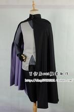 Naruto фильма саске косплей костюм плащ + брюки + жилет +