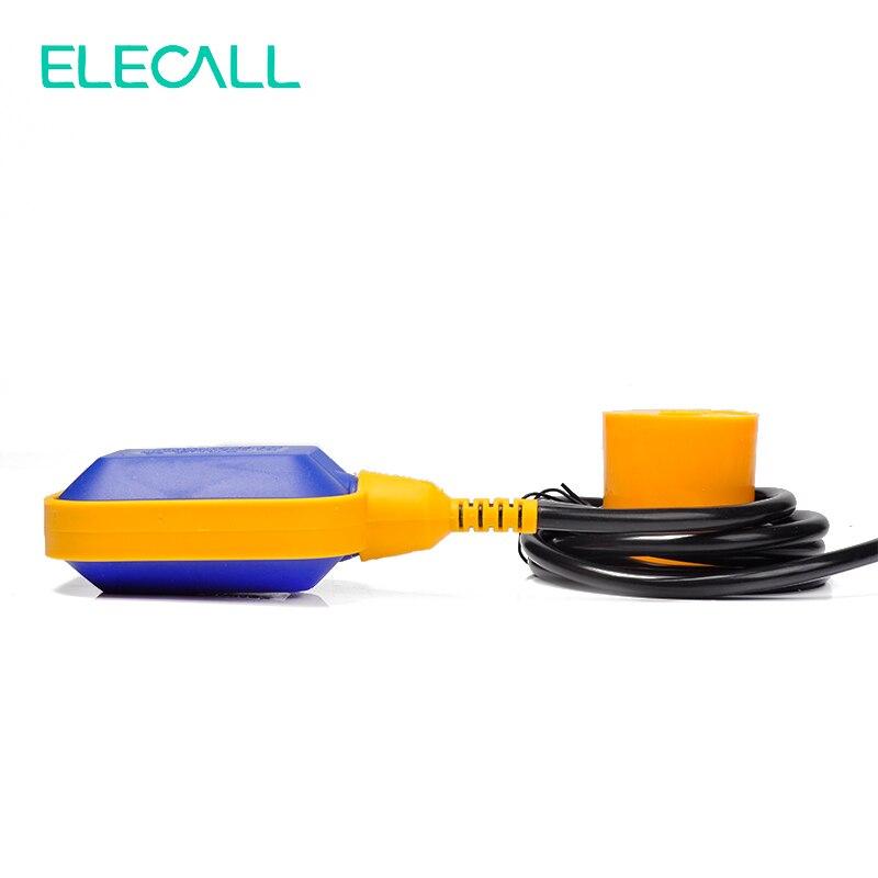 ELECALL 12M contrôleur flotteur interrupteur liquide commutateurs liquide fluide niveau d'eau flotteur interrupteur contrôleur contacteur capteur - 3