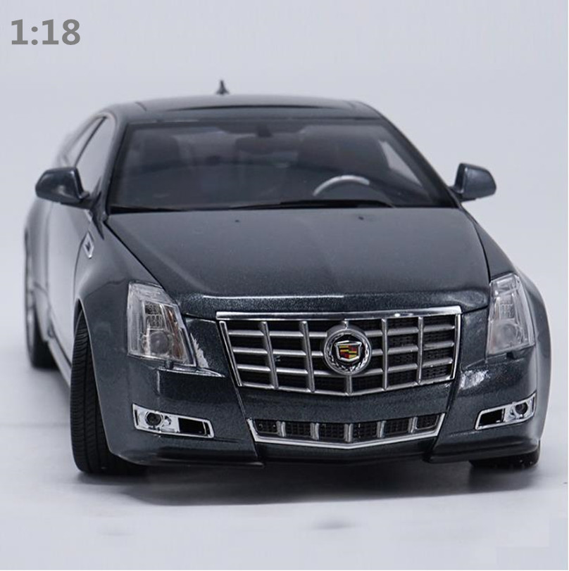 High simulation CTS cadillac cts coupe car model 1:18 advanced alloy collection toy vehicle,diecast metal model,free shipping цена