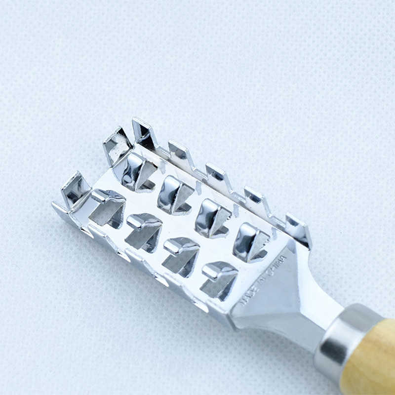 الفولاذ المقاوم للصدأ العملي مزيل دائم أدوات المطبخ الجلد الأسماك ماكينة حلاقة تنظيف أداة فرشاة جداول مكشطة مقشرة