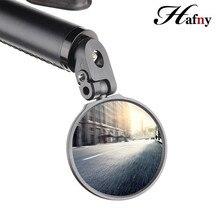 Hafny, руль велосипеда, торцевые зеркала, велосипедная задняя часть, зеркало для MTB, для езды на дороге, для гонок, стальное зеркало, Аксессуары для велосипеда