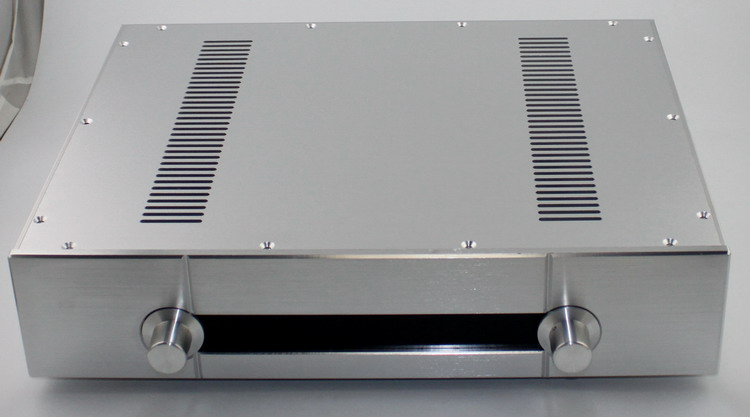 case size:430*92*343mm WA39 Full aluminum Silver amplifier chassis/Imitation Gawain pre-amplifier/AMP Enclosure/case/DIY box ya39 full aluminum silver amplifier chassis imitation gawain pre amplifier amp enclosure case diy box