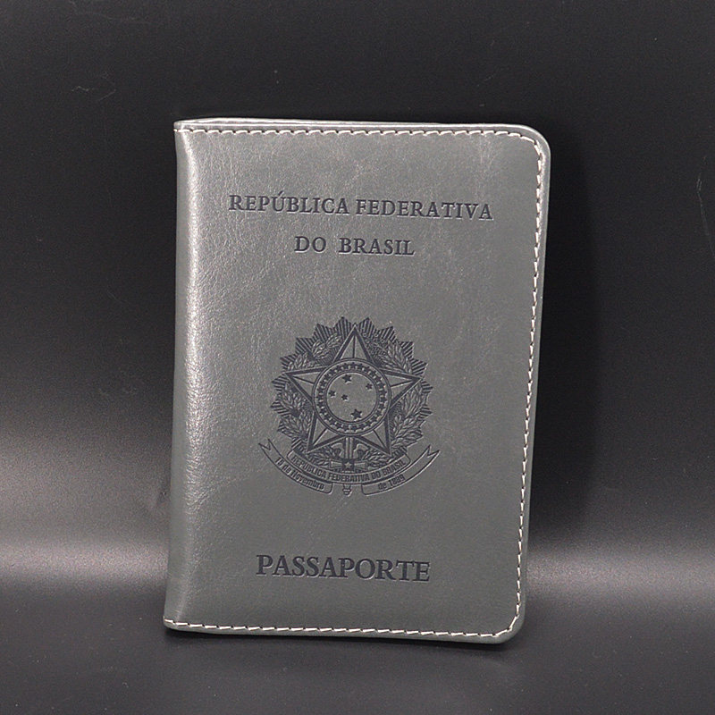 Women Passport Cover Brazil Cute Passaporte Girls Soft Pu Leather Travel Passport Holder Covers For Passports Case Documents