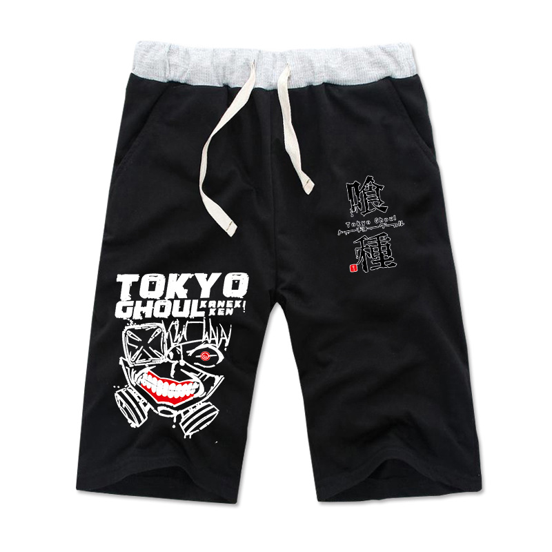 Summer anime MEN WOMEN Tokyo Ghoul cosplay shorts kaneziki  kaneki ken carnaval cosplay summer short pants
