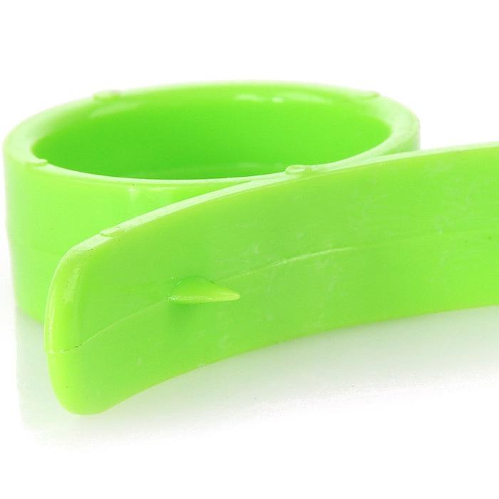 3 Pcs Lemon Orange Peeler Finger Ring Peel Remover Cutter Kitchen Random Color 70