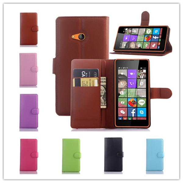 Galleria fotografica For <font><b>Nokia</b></font> Microsoft Lumia 540 Case <font><b>Cover</b></font> Fashion Luxury Flip Wallet Stand PU Leather Phone Case <font><b>Cover</b></font> for Microsoft Lumia 540