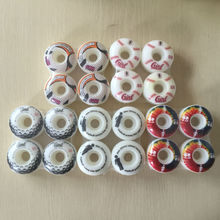 4pcs/Set USA BRAND Girl 51mm/52mm High density PU 101A Skateboard Wheels Aggressive Skateboard Parts for Skate double rocker