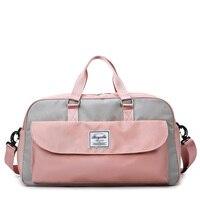 Pink Bag Women Gym Bag Professional Large Sports Bags For Fitness Training Yoga Sport cantasi bolsas deportivas