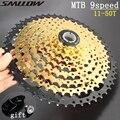 SONNENSCHEIN 9 s 11-50 T Gold Kassette 9 Geschwindigkeit Breite Verhältnis Goldene Durable Freilauf für MTB Mountainbike fahrrad