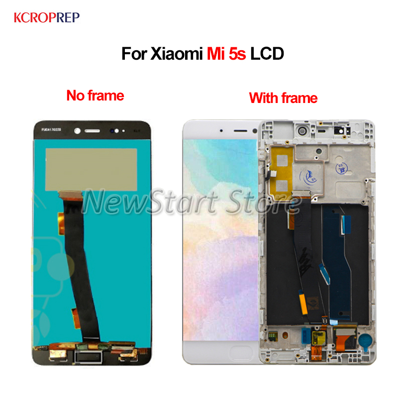 """For Xiaomi Mi 5s LCD Display Touch Screen Digitizer Assembly 5.15"""" 100% Tested For Xiaomi Mi5s M5s MI5s lcd Replacement Accessor"""
