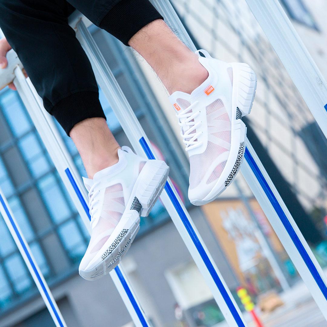 Xiaomi Mijia YUNCOO Lightweight sneakers Transparent MONO yarn Light and quick drying Men s women s