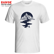 Let's Go To The Mountain T Shirt Hike Sports Active Pop Novelty T-shirt Punk Brand Style Unisex Men Women White Cotton Tee trivial pursuit pop culture 2 to go