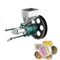 2019 yeni mısır puf gıda ekstrüder çıkış 30 40 kg/saat mısır pirinç şişirilmiş gıda makinesi mısır puf ekstruder 7 ölür Mutfak Robotları    -