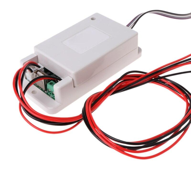 MIUSON DC 500V 100A 200A 500A Voltm/ètre sans Fil Amp/èrem/ètre Coulom/ètre Compteur de Puissance /à Batterie