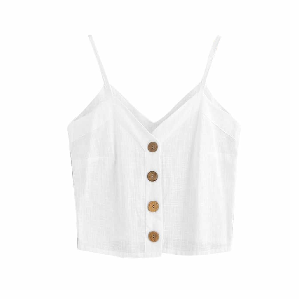 Feitong 女性キャミソールシルクタンクトップ女性キャミソール 2018 夏スタイルのセクシーなノースリーブベストスリム白ホルタータンクトップ Roupas femi #3