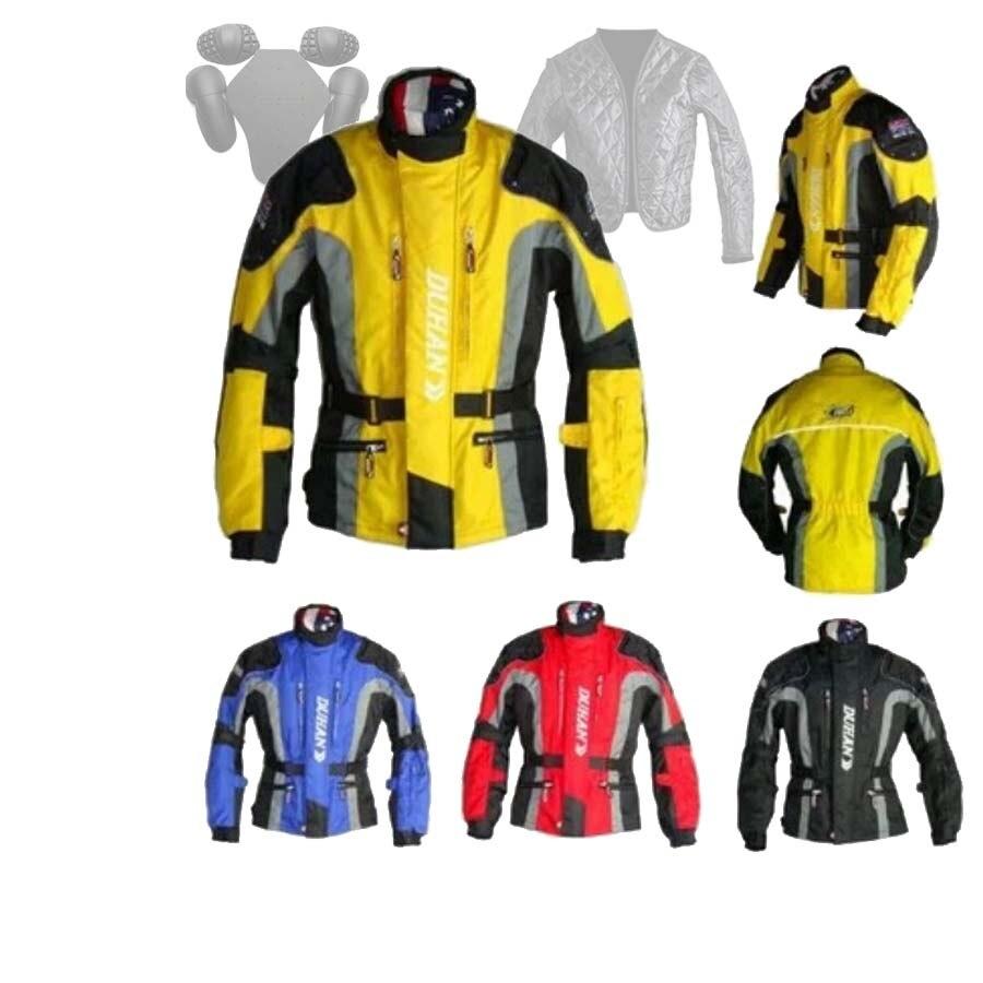 Men motorcycle Long windbreaker ,oxford DUHAN D-023 jacket , motocross riding moto protection chaqueta warm cotton lining