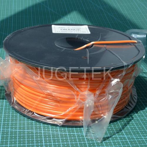 Abs Filament 3.0 In Oranje Kleur 1 Kg