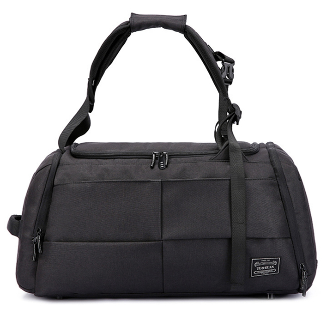 Big Capacity Polyester Duffle Sport Gym Bag Outdoor Backpack Theftproof Handle Travel Baggage For