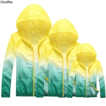 Giraffita Unisex Sun Protection Clothes Sunscreen Skin Cardigan UV-proof Jacket Women Men Spring Summer Autumn Outcoat(China)