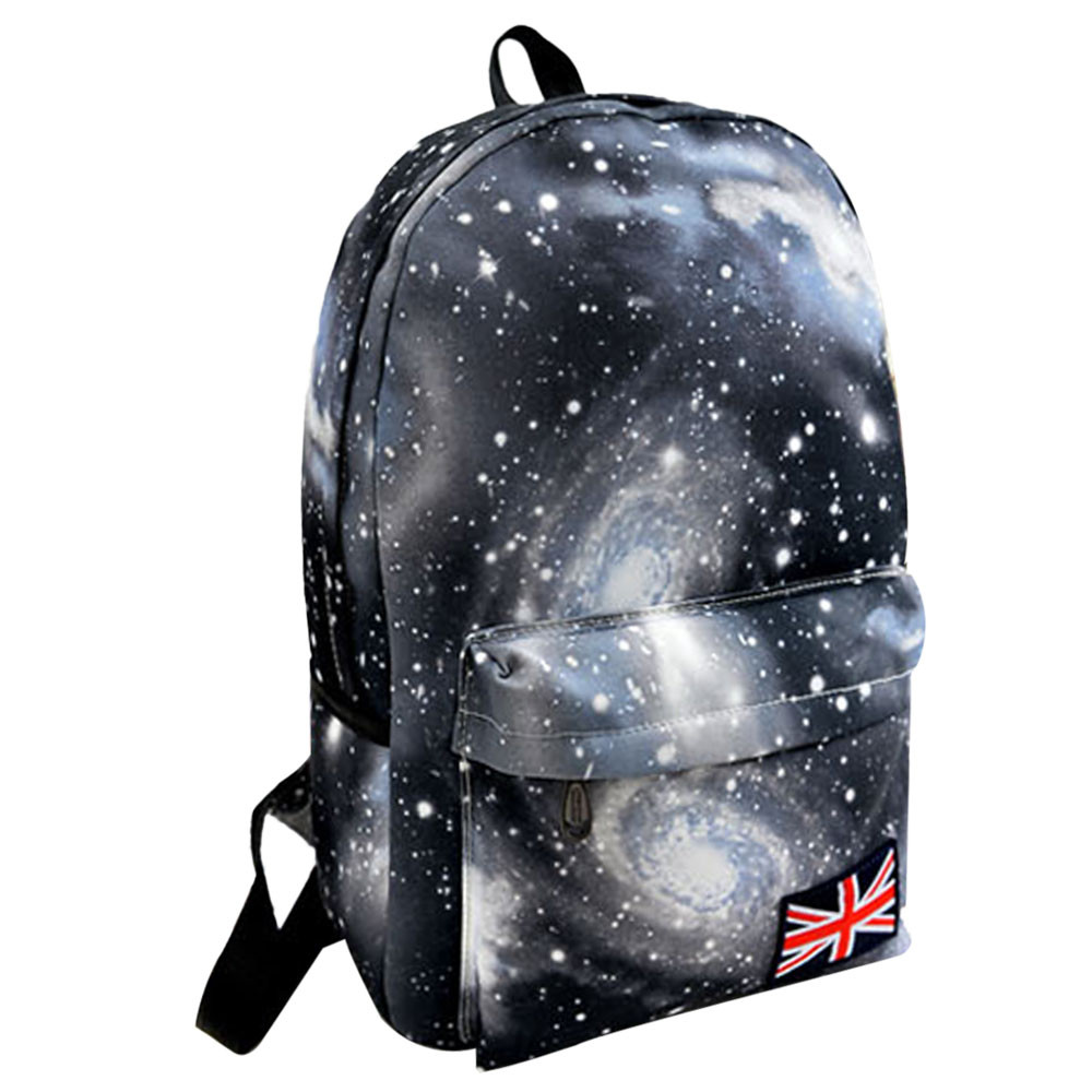 Star Pattern Unisex Travel Waterproof Anti-theft Backpacks Canvas Leisure Bags School Soft Shoulder Feminine Bag Droship 10jul31