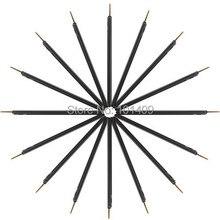 ISMINE Brand New 100pcs/set Disposable Synthetic hair liquid eyeliner brush Makeup brushes tools to eye make up eye brush Kit