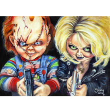 Buy Chucky Painting And Get Free Shipping On Aliexpresscom