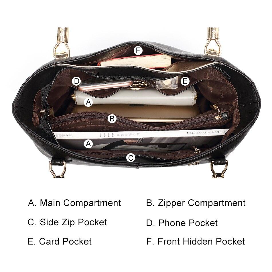 FOXER Брендовые женские сумки из воловьей кожи и сумки через плечо, женские модные сумки, женские сумки через плечо - 4
