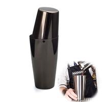 Stainless Steel Cocktail Shaker Tin on Tin 28&18oz Professional Bartender Cocktail Shakers Bar Tools