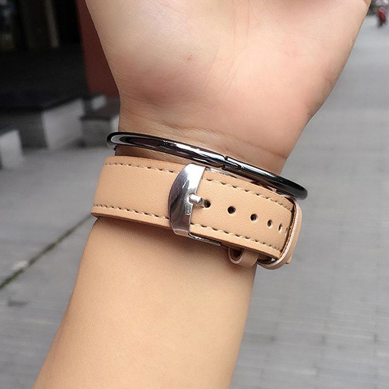 2016 Märke Lyxiga Kvinnor Armbandsur Casual Mode Dam Leather Quartz - Damklockor - Foto 5