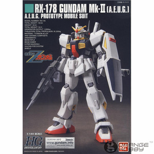 Image 5 - OHS Bandai HGUC 193 1/144 RX 178 Gundam Mk II A.E.U.G. Beleben Mobile Anzug Montage Modell Kits