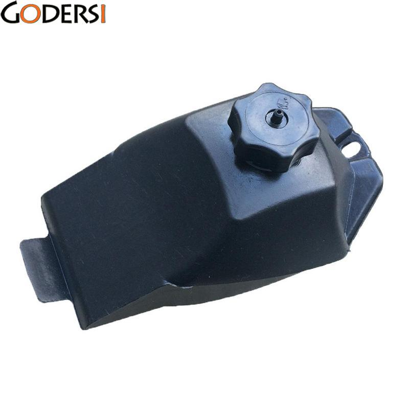 Godersi Black Gas Petrol Tank w/ Cap Filter Kit For Mini Moto ATV Quad Bike Kart MCT2981